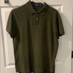 Polo By Ralph Lauren Men Large custm fit exc cond